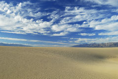 Sand dunes in Death Valley Stock Photo