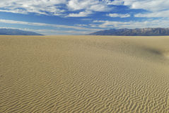 Sand dunes in Death Valley Royalty Free Stock Photo