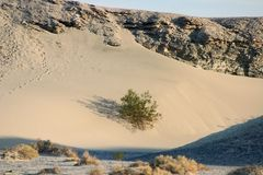 Sand dunes of death valley Royalty Free Stock Images