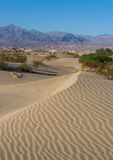 Sand Dunes in Death Valley Stock Image