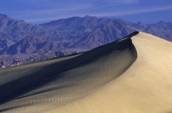 Sand dunes in Death Valley Royalty Free Stock Photography