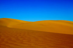 Sand Dunes in Death Valley California Stock Photo