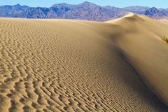 Sand Dunes in Death Valley California Royalty Free Stock Image