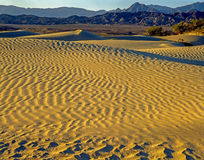 Sand Dunes, Death Valley Royalty Free Stock Photos
