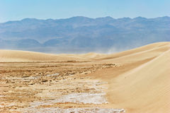 Sand dunes, Death Valley, California Stock Photo
