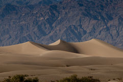 Sand dunes in the Death valley Royalty Free Stock Photo