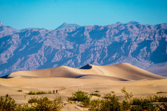 Sand dunes in Death Valley Royalty Free Stock Image