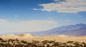 Sand Dunes in Death Valley National Park in California Stock Images
