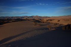 Sand dunes, Death Valley National Park. Stock Photos