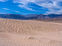 Sand dunes in Death Valley National Park Royalty Free Stock Image