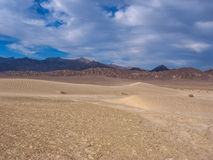 Sand dunes in Death Valley National Park Royalty Free Stock Photos