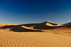 Sand dunes in desert landscape of Namib Royalty Free Stock Photography