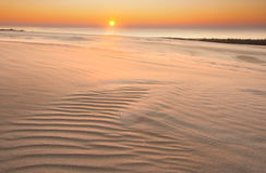 Sand dunes. desert landscape Royalty Free Stock Image