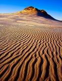 Sand dunes. desert landscape Stock Image