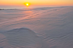 Sand dunes. desert landscape Royalty Free Stock Images