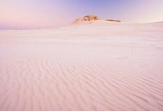 Sand dunes. desert landscape Stock Images