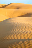 Sand dunes. Of desert Thar  in Rajasthan, India Royalty Free Stock Photos