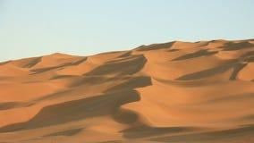 Sand dunes of desert in Xinjiang. China Stock Photos