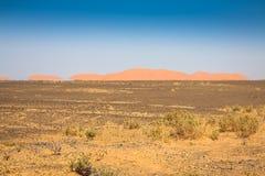 Sand Dunes of Erg Chebbi int he Sahara Desert, Morocco Stock Photo