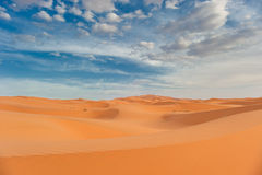 Sand dunes of Erg Chebbi, Morocco Stock Images
