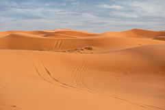 Sand dunes of Erg Chebbi, Morocco Stock Photo
