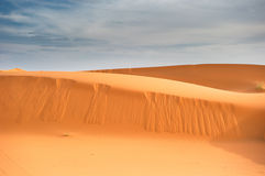 Sand dunes of Erg Chebbi, Morocco Stock Photography