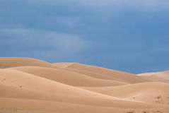 Sand dunes in Gobi desert. Stock Photo