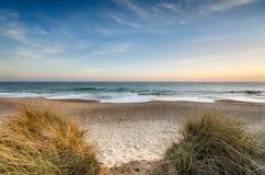 Sand dunes at Hengistbury Head Royalty Free Stock Image