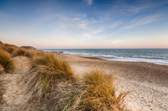 Sand Dunes at hengistbury Head Stock Image