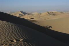 Sand dunes, Huacachina Stock Photography
