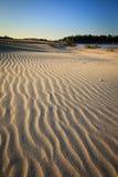 Sand dunes. And lake ,Sampanbok Grandcanyon of Thailand Stock Photography