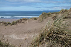 Sand dunes lead to Dingle Peninsula, Rosbehy Point Royalty Free Stock Photography