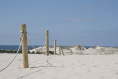 Sand dunes in Leba Stock Images