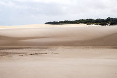 Sand dunes of the Lencois Maranheses in Brazil Stock Image