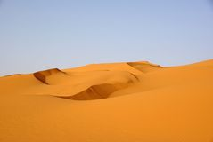 Sand dunes, Libya Royalty Free Stock Photo