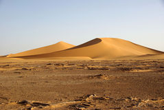Sand dunes in Libya Stock Photo