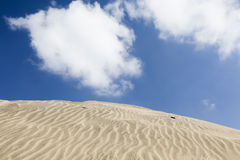Sand dunes in Maspalomas, Spain Royalty Free Stock Photography