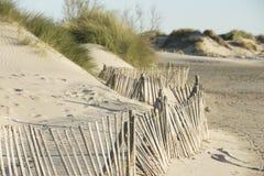 Sand Dunes on the Mediterranean Sea Royalty Free Stock Photo