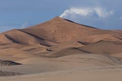 Sand dunes of Merzouga Royalty Free Stock Photo