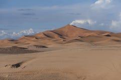 Sand dunes of Merzouga Stock Photo