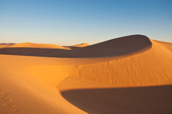 Sand dunes, Morocco Stock Image