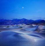 Sand Dunes And Mountains Stock Images