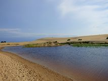 Sand dunes of Nags head Stock Images