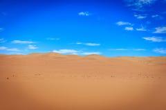 Sand dunes in the Namib desert. Stock Photo