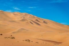 Sand dunes in the Namib desert.Sand dunes in the Namib desert. Stock Photography