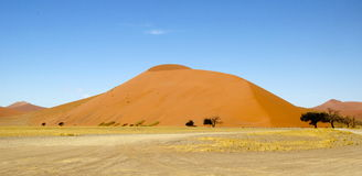 Sand dunes of Namibia Royalty Free Stock Image