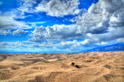 Sand dunes. National park in Colombia Royalty Free Stock Photos