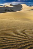 Sand dunes near Stovepipe Wells, Death Valley Stock Photo