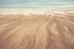 Sand dunes on North Sea Royalty Free Stock Photos