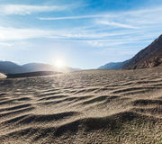 Sand dunes. Nubra valley, Ladakh, India Stock Photo